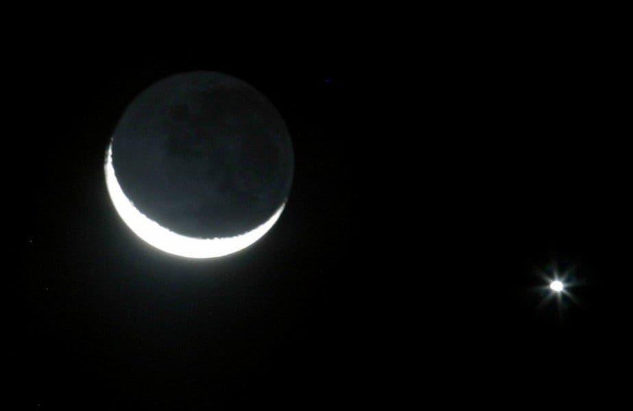 Contempla este 23 de mayo la conjunción de la Luna y Venus