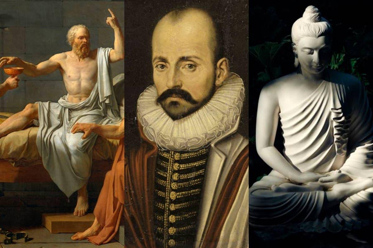 La meditación sobre la muerte: Sócrates, Montaigne, el Buda