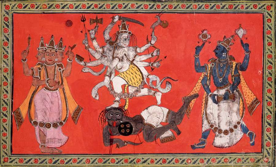 La ontología del universo alquímico-tántrico del hinduismo