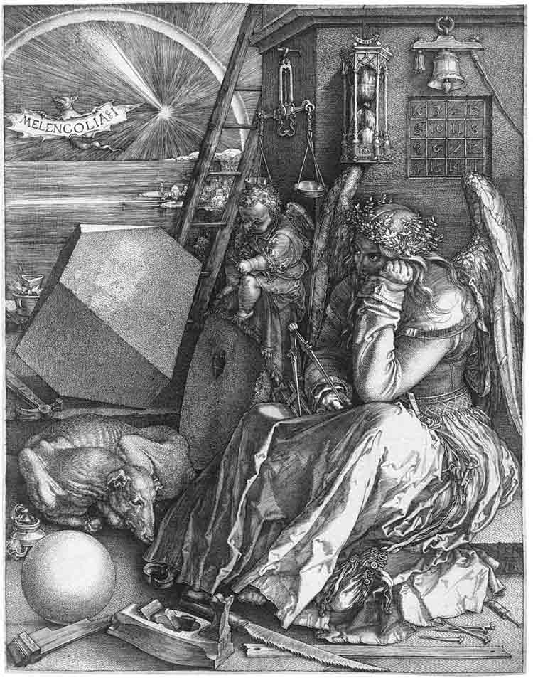 Melancolía I, Alberto Durero (1514)