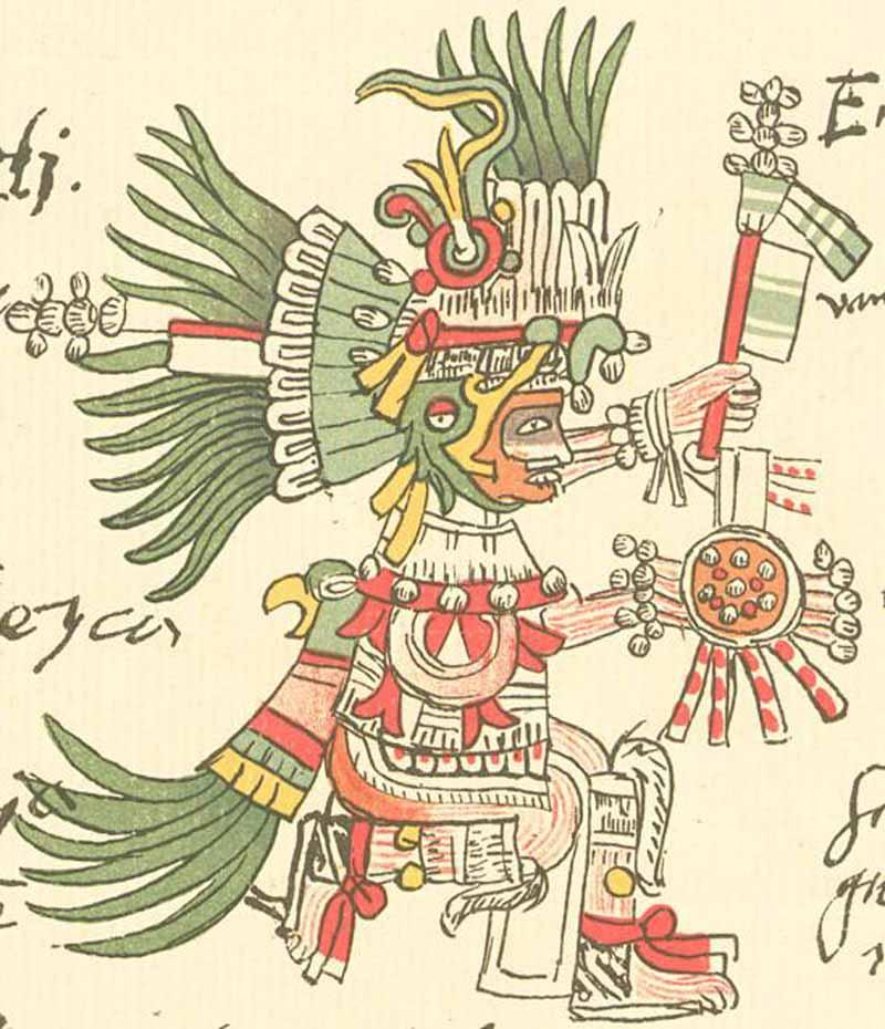 Huitzilopochtli en el Códice Telleriano-Remensis