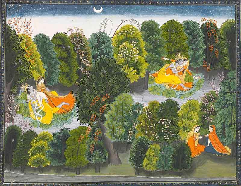Amor más allá de la muerte, estudios de erotismo divino: Hinduismo