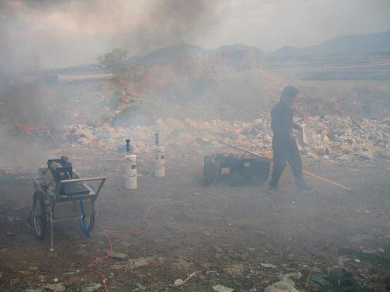 Contaminación del aire por causa de la basura electrónica