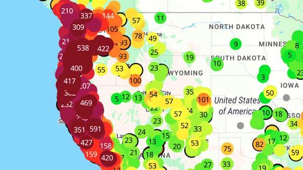 Estados Unidos: las ciudades más contaminadas del mundo