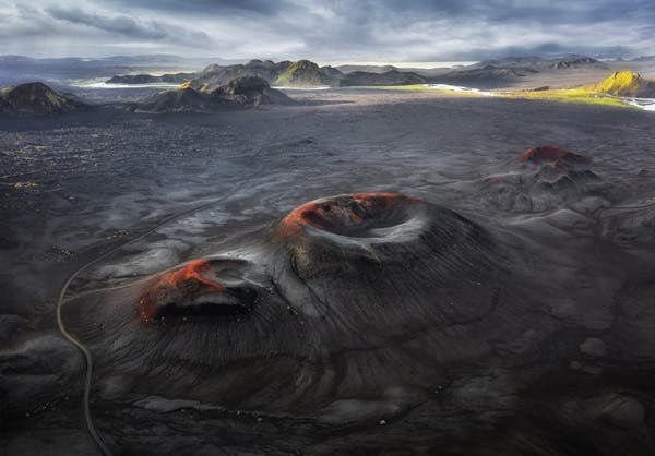 Cráteres volcánicos