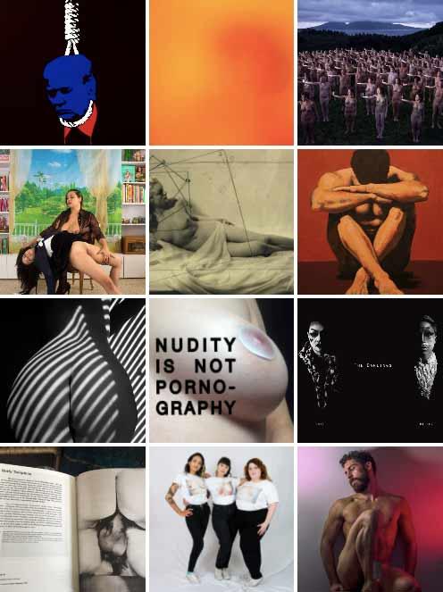 Esta plataforma recupera el arte censurado por los algoritmos de las redes sociales