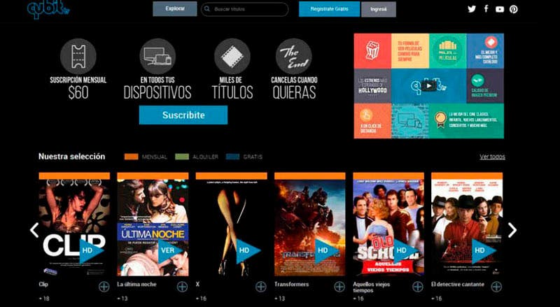 QubiTv: cine de autor e independiente en streaming