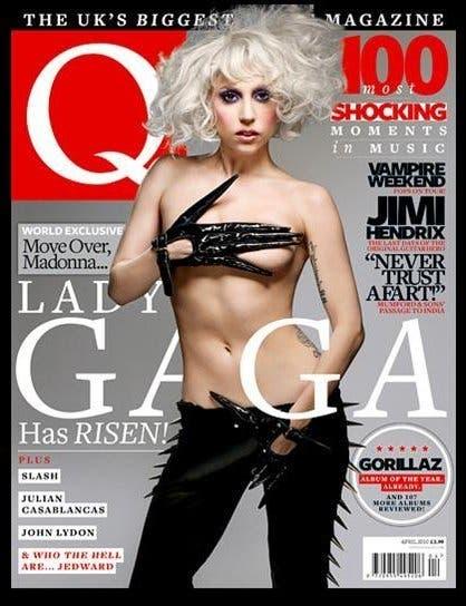 Tacchi a forma di pene per Lady Gaga