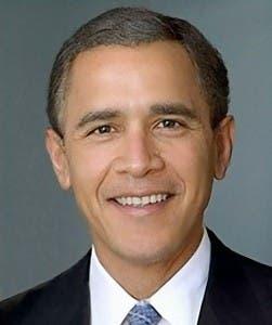 Barack Obama y Dick Chenny Primos