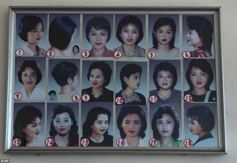 28 cortes de cabello corea del norte