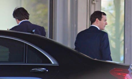 Osborne at Bilderberg