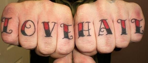 love-hate-knuckles-tattoo-design