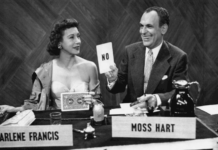 Moss_Hart_Arlene_Francis_Answer_Yes_or_No_1950