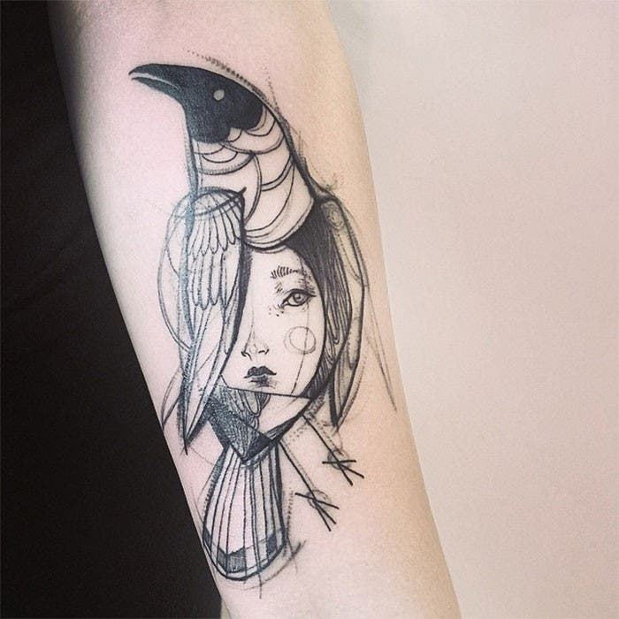 Tatuajes O Dibujos A Lápiz